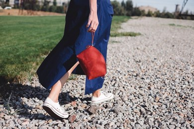 MOON BAG // RED