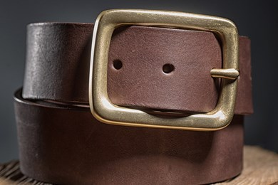 BELT // DARK BROWN
