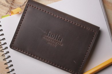 DRIVER LICENSE COVER // DARK BROWN