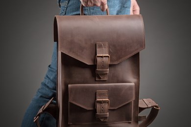 BACKPACK LEGEND // DARK BROWN